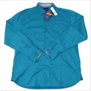 Tommy Bahama Oasis Twill Silk Blend Shirt Mens L
